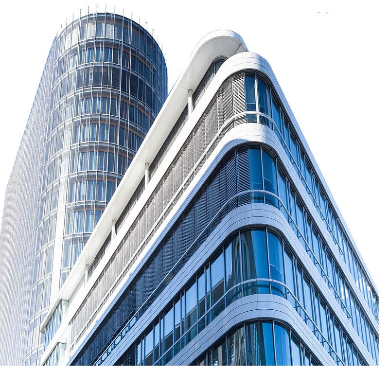Les cloisons en verre et en verre de vitrine sont toutes des vitrages non structuraux et esthétiques.