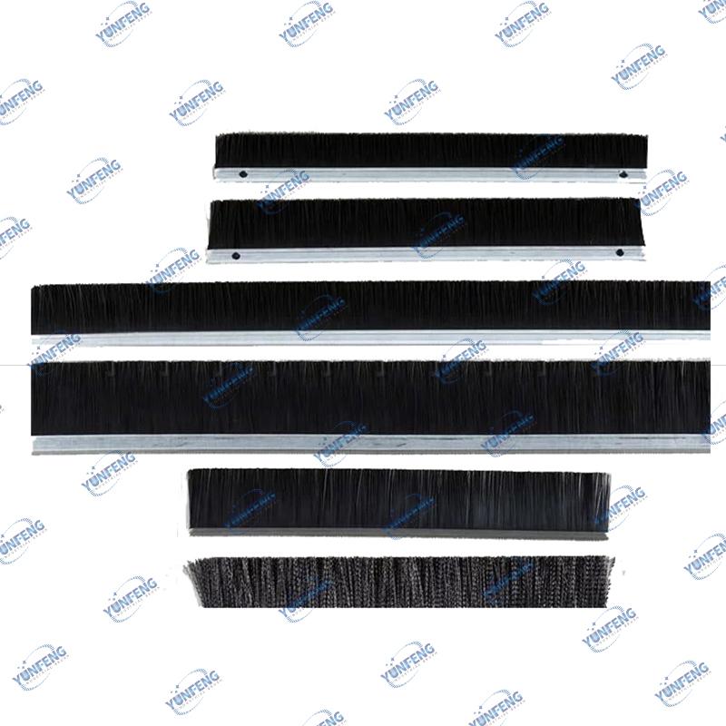 Brosse en nylon faite sur commande de brosse de brosse de brosse de brosse de joint de brosse de bande de fabricant