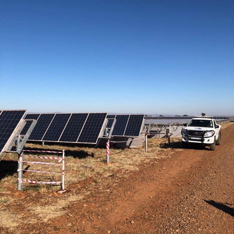 Récupération de panneau solaire