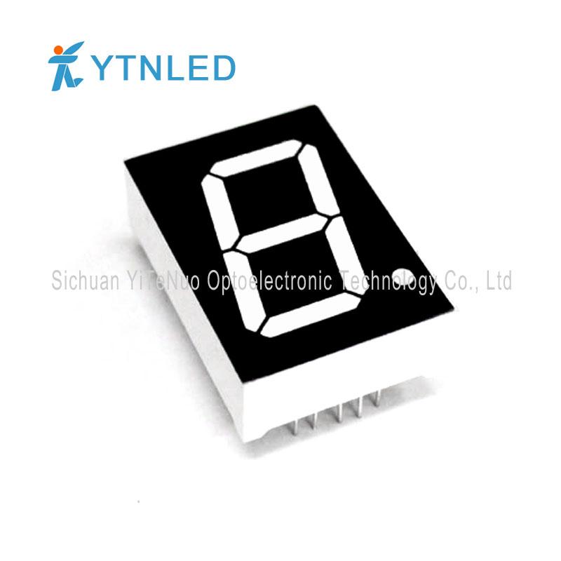 Affichage à LED 7 segments, 1 pouce, rouge, à 7 chiffres, tube numérique