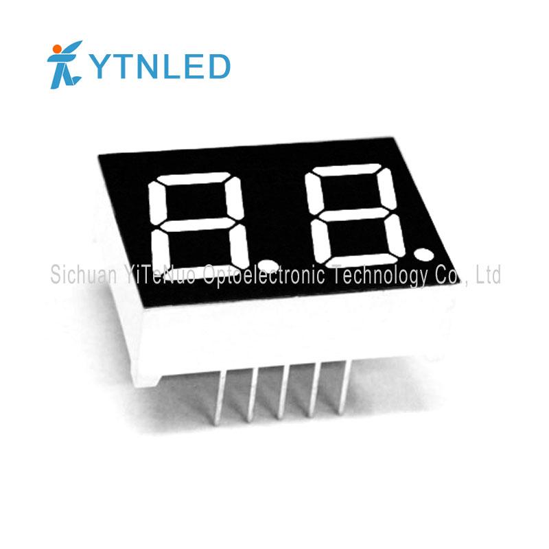 Afficheur à LED 7 segments rouge 0,5 pouce, tube numérique