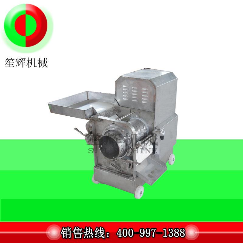 Il existe également une machine spéciale pour la carapace de crevette - retirez la machine de carapace de crevette