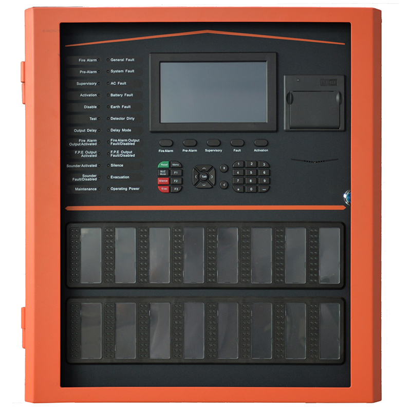 TX7004 Centrale de commande d'alarme incendie adressable intelligente