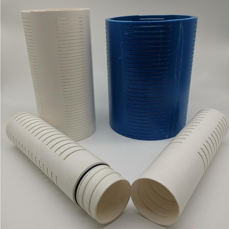 Tuyau d'écran de PVC d'enveloppe de PVC pour le puits d'eau