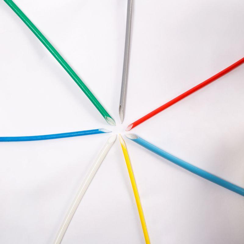 gaine silicone en fibre de verre