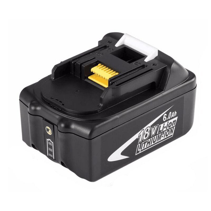 Batteries sans fil de remplacement Li-ion 18V 6000mAh pour perceuses Makita BL1845, BL1850, 194205-3