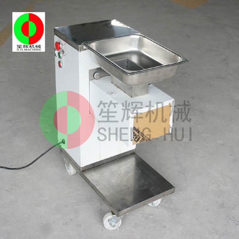 Petite trancheuse à viande / trancheuse à viande / découpeuse de viande / petite trancheuse à viande verticale QE-500
