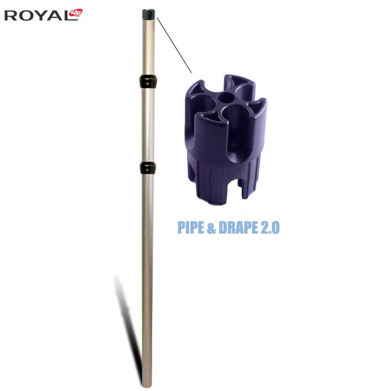 Pipe And Drape 2.0 Montant Réglable 3 Pièces