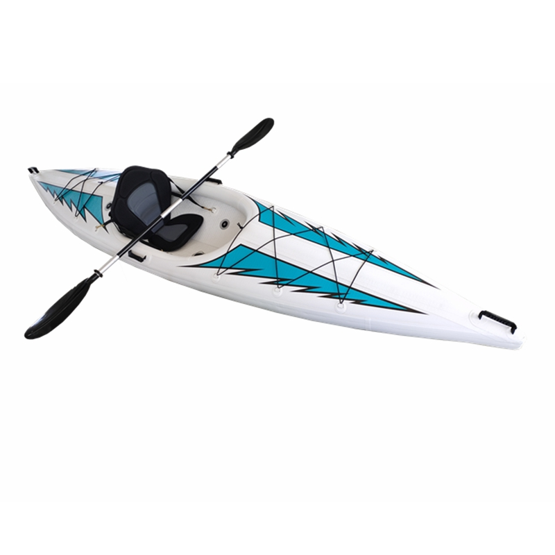 Kayaks gonflables monoplaces fabriqués en Chine