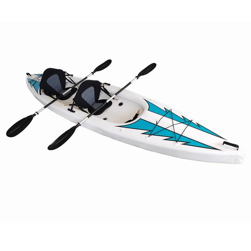 Kayaks gonflables à siège double en matériau pour couture