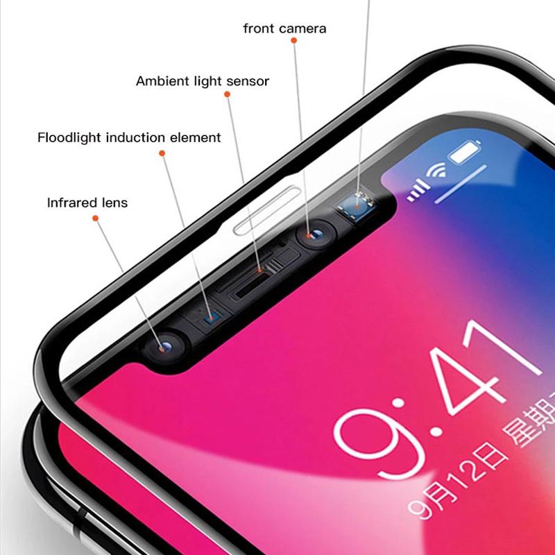 Protecteur d'écran 3D Nano pour iPhone XI / XI MAX 2019