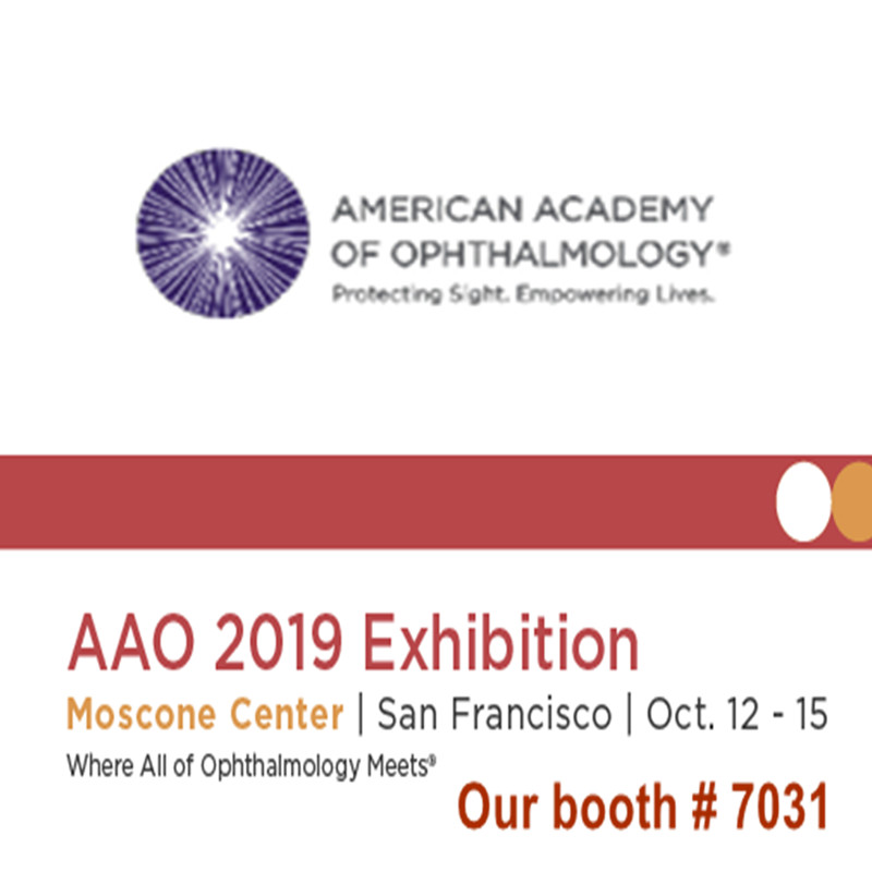 Bienvenue pour nous rendre visite à AAO 2019 Exposition