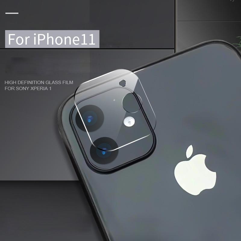 Protecteur d'écran objectif de la caméra pour iPhone 11Pro Max