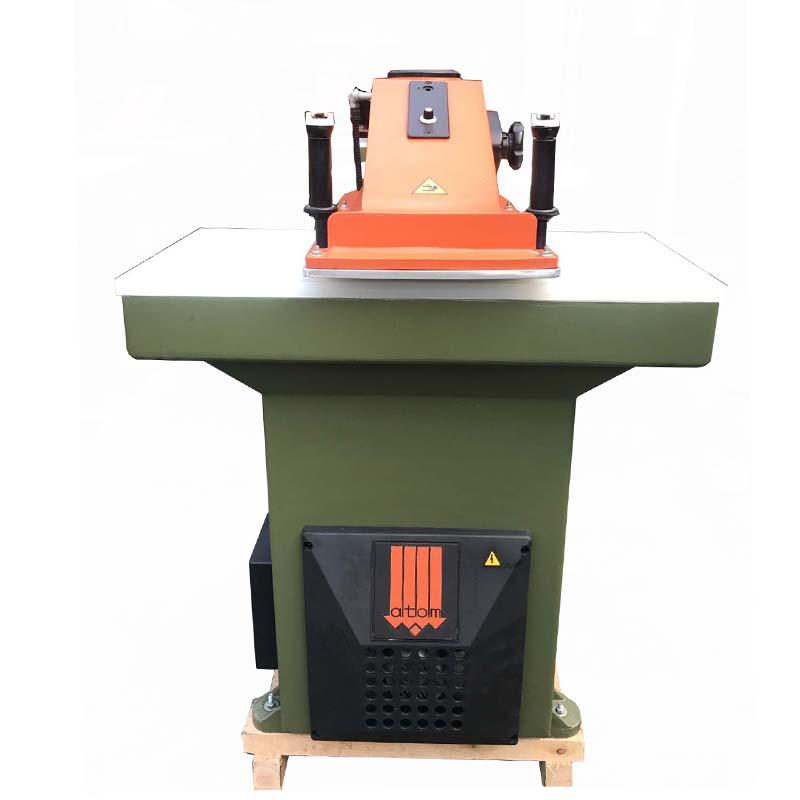 Presse de coupe ATOM reconstruite d'occasion pour chaussures et sacs en cuir