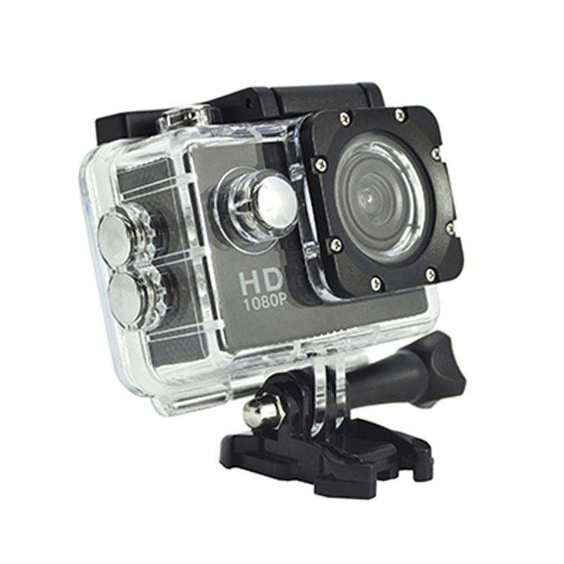 Caméra d'action portative Real HD 720P, angle de vue de 140 degrés, écran D12A de 2,0 pouces