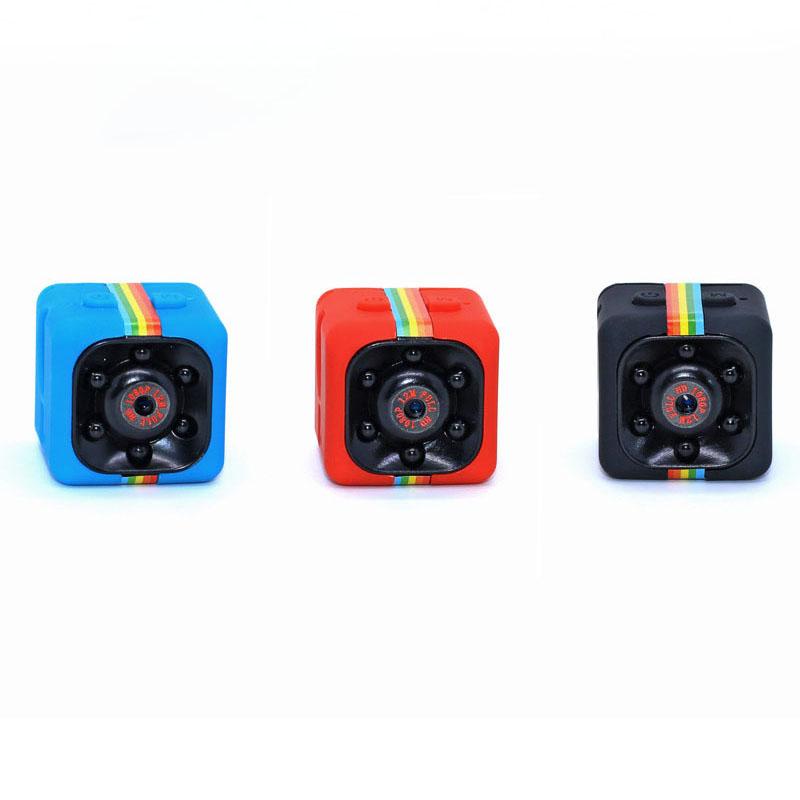 Mini caméra de poche portable Real HD 720P SQ11 avec un angle de vue de 140 degrés