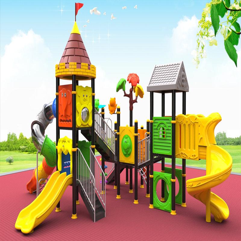 équipement de jeux de plein air avec enfants toboggan enfants jouets maison jeu