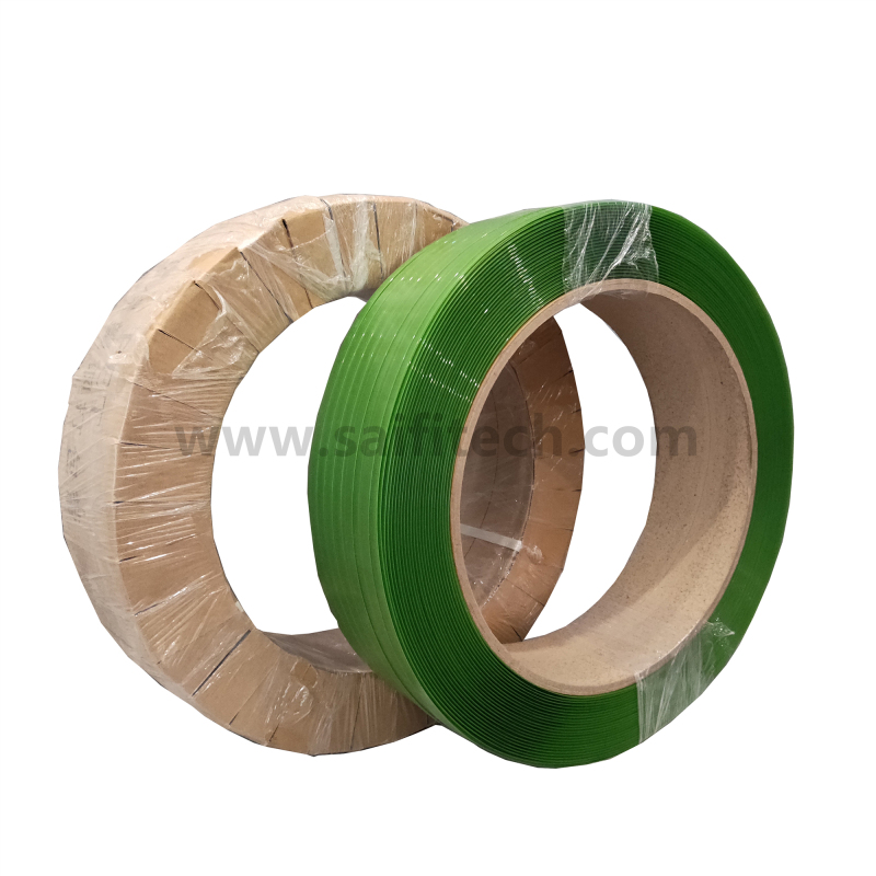 Green polyester band