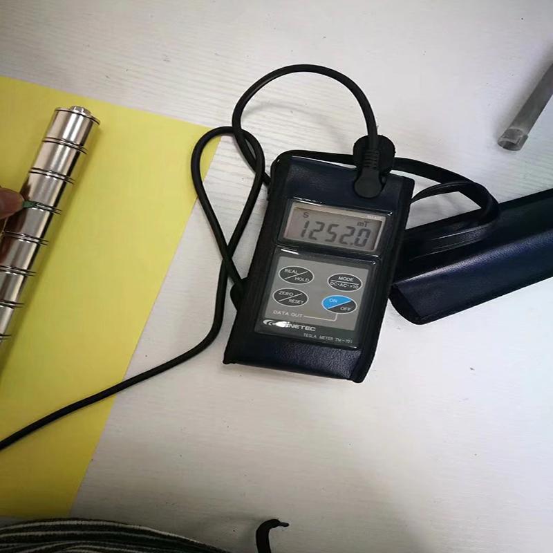 La barre magnétique superbe forte de NdFeB 14000Gs SUS316 fil d'acier inoxydable installent facilement